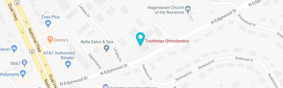 Hagerstown Location Toothman Orthodontics in Hagerstown MD